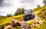 Twisted Defender V8 2018 UK first drive review - static rocks