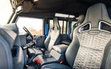 Twisted Defender V8 2018 UK first drive review - sports seats