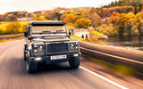 Twisted Defender V8 2018 UK first drive review - otr rear