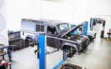 Twisted Defender V8 2018 UK first drive review - Twisted workshop