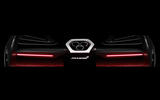 McLaren P15: extreme supercar's rear shown in new preview image