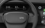 Uniti One Steering wheel
