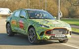 Aston Martin DBX testing