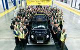 LEVC completes 2500th TX hybrid taxi in Coventry