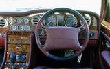 Used car buying guide: Bentley Turbo R - steering wheel