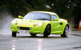 Lotus Elise S1 drifting