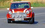 Rover Mini Cooper cornering