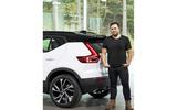 New Volvo XC40 and designer Ian Kettle
