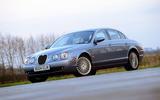 Jaguar S-Type R static
