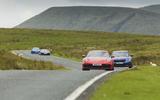 Porsche 911, BMW 320D, McLaren 600LT, Alpine A110