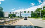 US 23 Flex Route lane control system outside Ann Arbor MI
