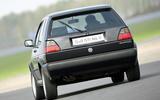 Used buying guide: Volkswagen Golf GTI Mk2 - cornering rear