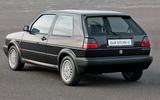 Used buying guide: Volkswagen Golf GTI Mk2 - static rear