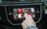 Using the Seat Ibiza infotainment system