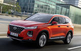 Hyundai Santa Fe 2018 first drive review on the road front