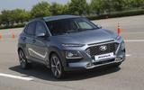Hyundai Kona cornering
