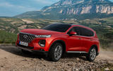 Hyundai Santa Fe 2018 first drive review off-road