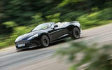 Aston Martin Vanquish S Volante cornering