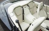Aston Martin Vanquish S Volante rear seats
