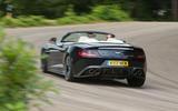 Aston Martin Vanquish S Volante rear cornering