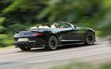 Aston Martin Vanquish S Volante roof down