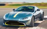 2019 Aston Martin Vantage AMR - cornering