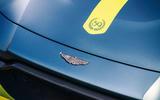 2019 Aston Martin Vantage AMR - bonnet detail