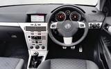 Vauxhall Astra SRi dashboar