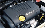 Vauxhall Astra SRi engine bay