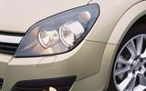 Vauxhall Astra SRi headlight