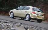 Vauxhall Astra SRi rear