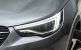 Vauxhall Grandland X headlights