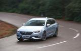 Vauxhall Insignia Sports Tourer longterm review cornering