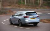 Vauxhall Insignia Sports Tourer longterm review rear