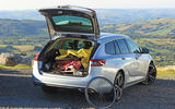 Vauxhall Insignia Sports Tourer cycling in Wales boot