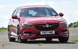 Vauxhall Insignia Sports Tourer cornering