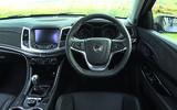 Vauxhall VXR8 GTS-R dashboard
