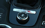 Vauxhall VXR8 GTS-R traction control button