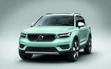 New Volvo XC40 green mint