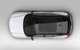 New Volvo XC40 top bird's eye view