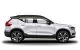New Volvo XC40 side