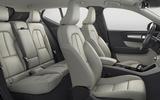 New Volvo XC40 interior white