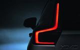 New Volvo XC40 rear light