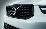 New Volvo XC40 grille