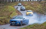Ford Mustang, Audi S3, VW Tiguan, BMW i3