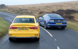 Audi S3 and Ford Mustang