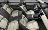 range rover velar cream black interior