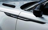 Range Rover Velar bonnet louvre
