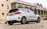 Ford Fiesta Vignale rear quarter