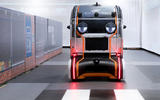 Jaguar Land Rover gives driverless pods eyes to signal road users
